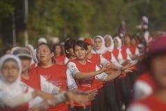 INDONEZJA gier azjatyckich gospodarza wyzwanie Zdjęcie Royalty Free