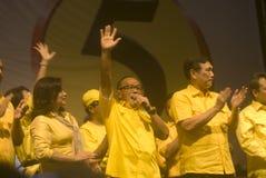 INDONEZJA GOLKAR partii politycznej profil Obrazy Royalty Free