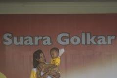 INDONEZJA GOLKAR partii politycznej profil Fotografia Royalty Free