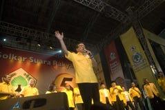 INDONEZJA GOLKAR partii politycznej profil Zdjęcia Royalty Free