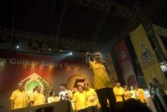 INDONEZJA GOLKAR partii politycznej profil Zdjęcia Stock