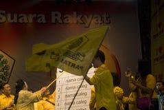 INDONEZJA GOLKAR partii politycznej profil Zdjęcie Stock