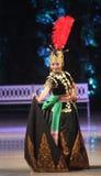Indonezja javanesse Tradycyjny taniec Zdjęcia Royalty Free