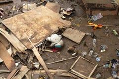Indonezja katastrofy Błyskowa powódź - Garut 004 Fotografia Royalty Free
