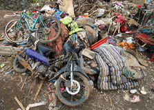 Indonezja katastrofy Błyskowa powódź - Garut 045 Obraz Royalty Free