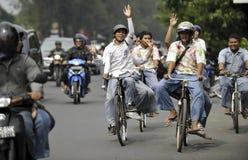 INDONEZJA NISKI WYKWALIFIKOWANY absolwent zdjęcie royalty free