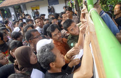 INDONEZJA NISKI WYKWALIFIKOWANY absolwent zdjęcia royalty free