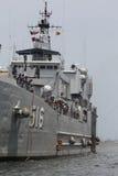 Indonezja okręt wojenny Fotografia Royalty Free