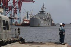 Indonezja okręt wojenny Zdjęcia Royalty Free