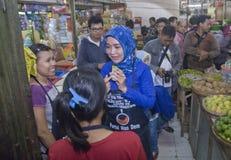 INDONEZJA POSPIESZNIE PRZYGOTOWANI wybory Obraz Royalty Free