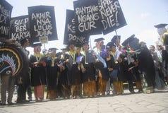 INDONEZJA POTRZEBUJE WIĘCEJ doktoratów wykładowców Zdjęcia Royalty Free