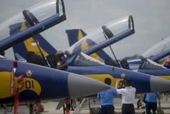 INDONEZJA siły powietrzne myśliwa odrzutowego NOWE propozycje Fotografia Stock