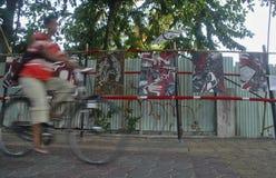 INDONEZJA turystyki wizyty spadek Obraz Stock
