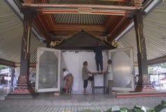 INDONEZJA turystyki wizyty spadek Obraz Royalty Free