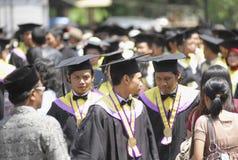 INDONEZJA wysokie bezrobocie obraz stock