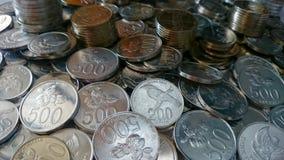 Indonezyjczyk moneta Fotografia Royalty Free