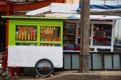 indonezyjczyka karmowy kram Fotografia Stock