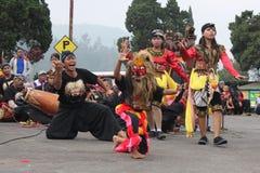 Indonezyjczyka Reog ponorogo Zdjęcie Royalty Free