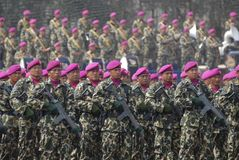 INDONEZYJSCY korpusy piechoty morskiej Zdjęcia Stock