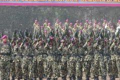 INDONEZYJSCY korpusy piechoty morskiej Obraz Stock