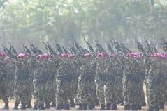 INDONEZYJSCY korpusy piechoty morskiej Fotografia Royalty Free