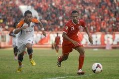 INDONEZYJSCY piłka nożna kłopoty Fotografia Stock