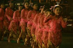 INDONEZYJSKA dziecko opieka społeczna Zdjęcie Royalty Free