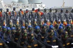 INDONEZYJSKA marynarka wojenna zdjęcia stock