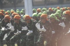 INDONEZYJSKA MILITARNA reforma Fotografia Stock