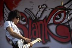 INDONEZYJSKA muzyka rockowa Obrazy Royalty Free