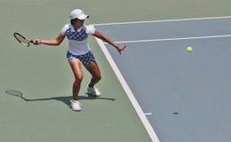 Indonezyjski gracz w tenisa Zdjęcia Royalty Free