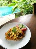 Indonezyjski kuchni naczynie, mee goreng fotografia royalty free