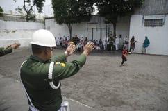 INDONEZYJSKI MILITARNY NOWY ODPIERAJĄCY terroryzmu oddział obrazy stock