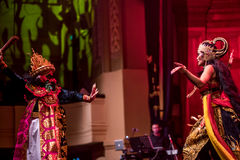 Indonezyjski opowieści i życia spełnianie Obrazy Royalty Free