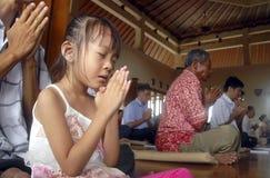 INDONEZYJSKI RELIGIJNY naród Zdjęcia Royalty Free