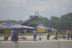 INDONEZYJSKI siły powietrzne samolot Zdjęcia Stock