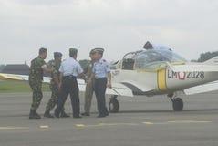 INDONEZYJSKI siły powietrzne samolot Obraz Stock