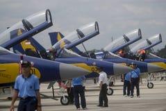 INDONEZYJSKI siły powietrzne samolot Zdjęcia Royalty Free