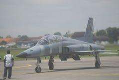 INDONEZYJSKI siły powietrzne samolot Fotografia Stock