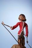 indonezyjski tradycyjne marionetką fotografia royalty free