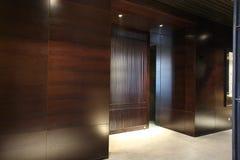 Indoor. Japanese restaurant entrance photo, indoor royalty free stock photo