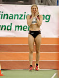Indoor Athletics Meeting Stock Image