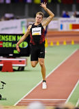 Indoor Athletics Meeting Royalty Free Stock Photos