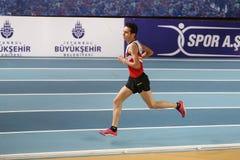 Indoor Athletics Record Attempt Races Stock Photos
