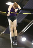 Indoor Atletics,Canadian Shawnacy Barber. Pole Vault ,World Champion Royalty Free Stock Image