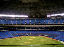 Indoor Baseball Diamond Stock Photography