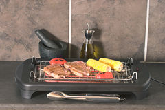 Indoor BBQ Royalty Free Stock Image