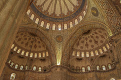 Indoor Blue Mosque Istanbul Turkey Royalty Free Stock Photos