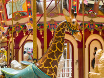 Indoor Carousel Stock Image