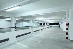 Indoor carpark Royalty Free Stock Photo